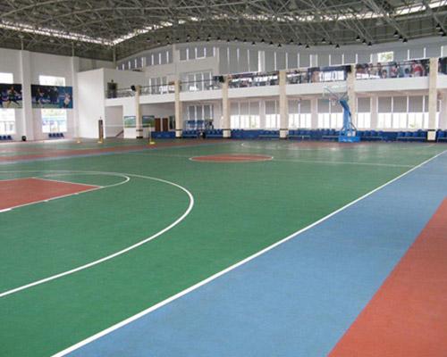 室内球场地坪