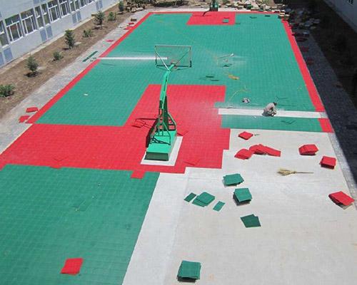 拼装型地坪