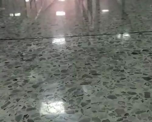水磨石密封固化地坪